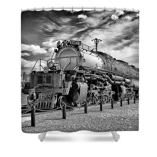 Union Pacific 4-8-8-4 Big Boy Shower Curtain