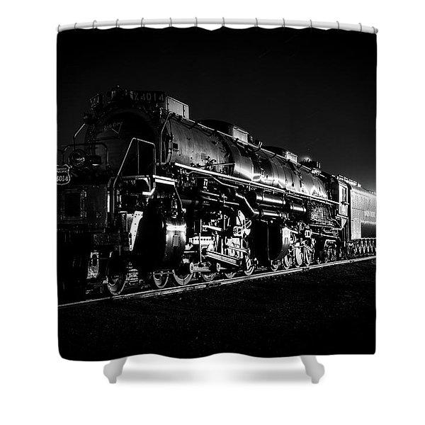 Union Pacific Big Boy Shower Curtain