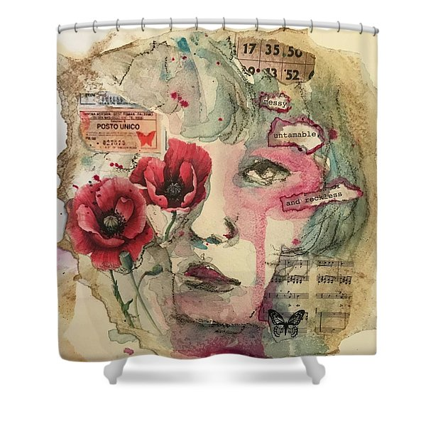 Untamable Shower Curtain