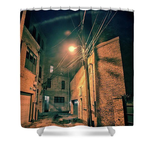 Urban Castle Shower Curtain