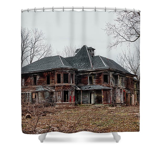 Urban Exploration Shower Curtain