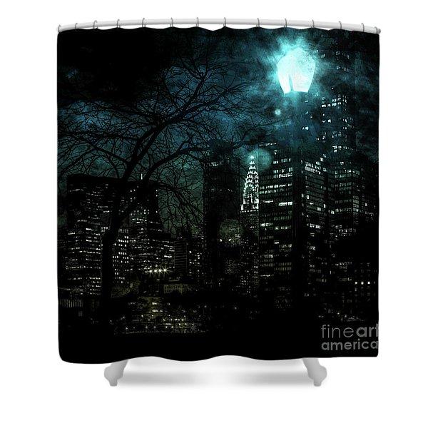 Urban Grunge Collection Set - 03 Shower Curtain