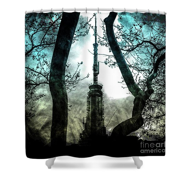 Urban Grunge Collection Set - 04 Shower Curtain