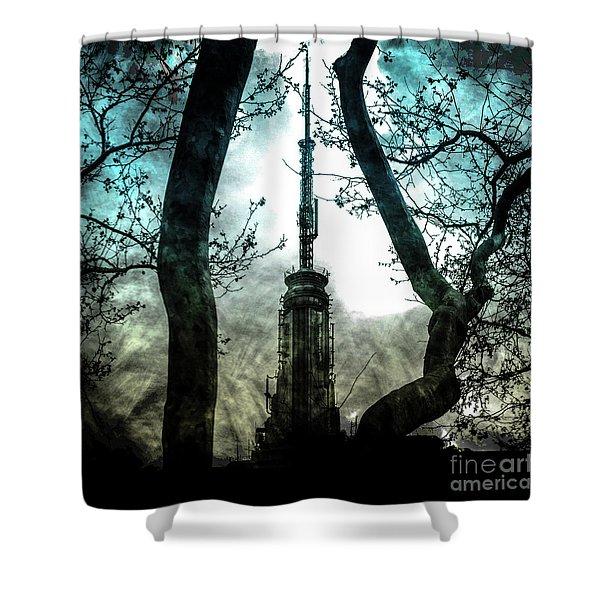 Urban Grunge Collection Set - 04 Shower Curtain