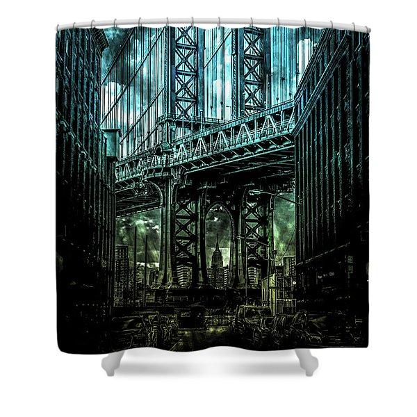 Urban Grunge Collection Set - 12 Shower Curtain