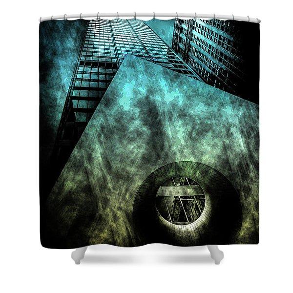 Urban Grunge Collection Set - 14 Shower Curtain