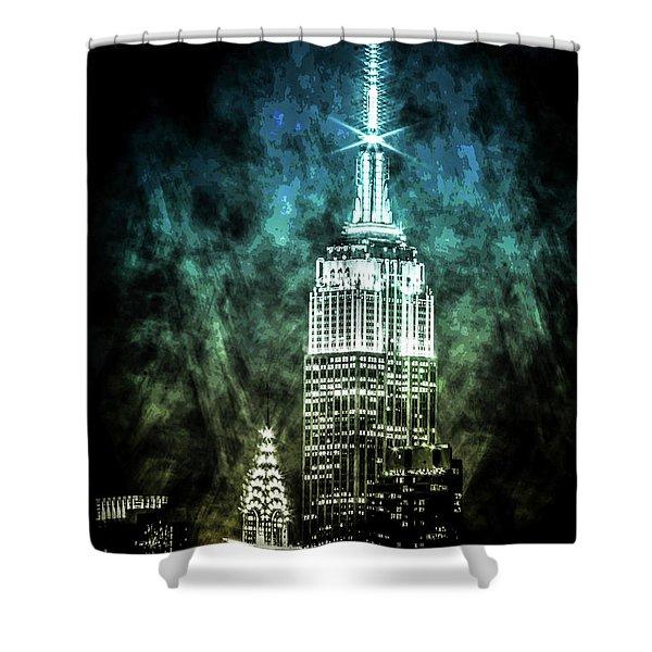 Urban Grunge Collection Set - 16 Shower Curtain