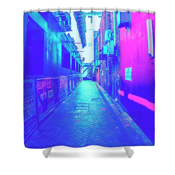 Urban Neon Shower Curtain