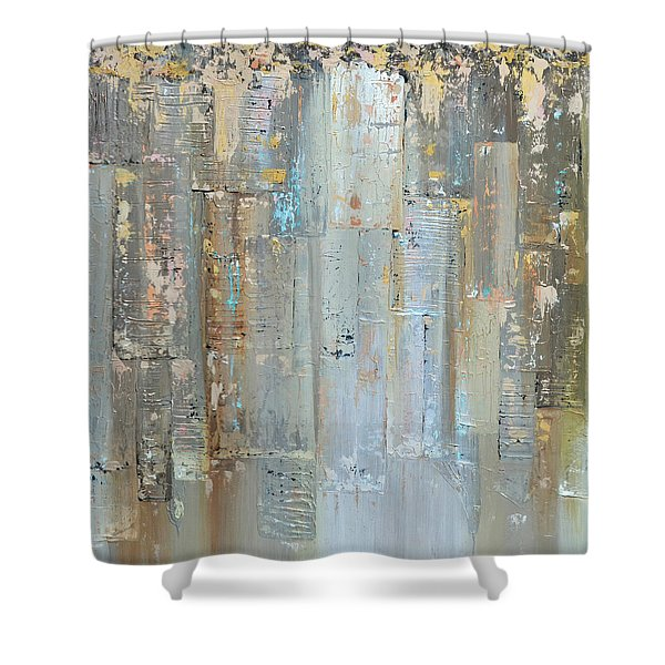 Urban Reflections II Day Version Shower Curtain
