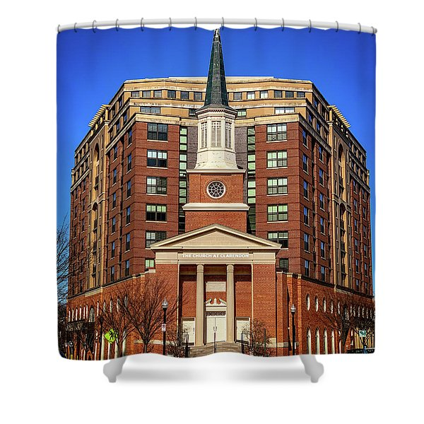 Urban Religion Shower Curtain