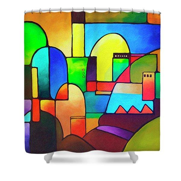 Urbanity 2 Shower Curtain