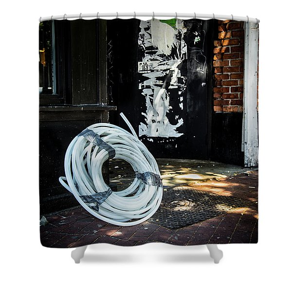 Shower Curtain featuring the photograph Urbanscape by Juan Contreras