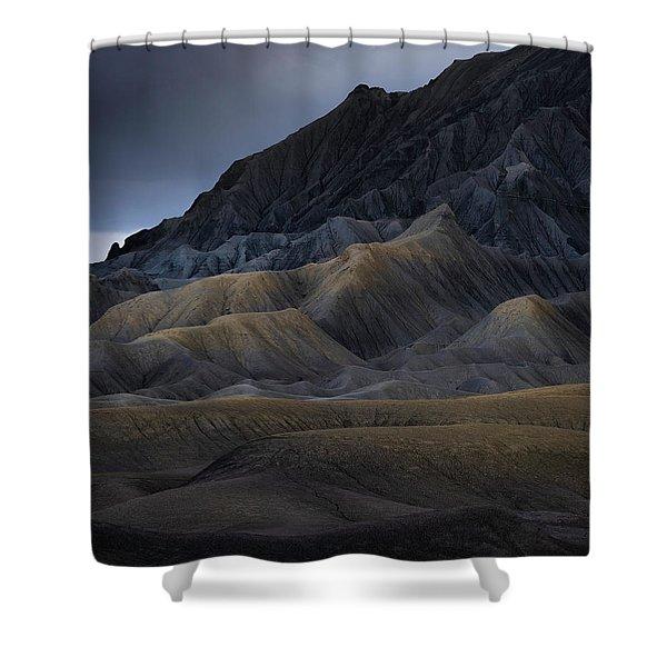 Utah Mountainside Shower Curtain
