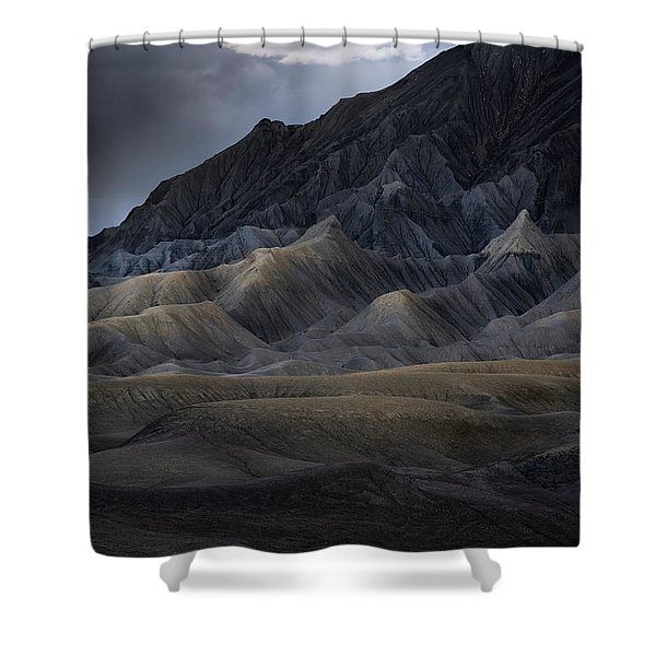 Utah Storm Shower Curtain