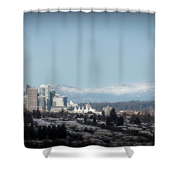 Vacouver Winter 1 Shower Curtain