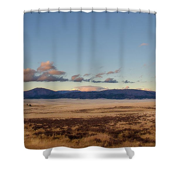 Valles Caldera National Preserve Shower Curtain