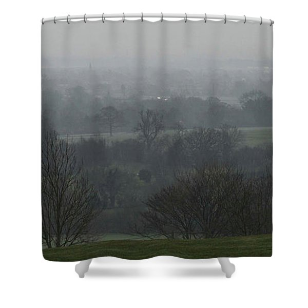 Valley Dawn  Shower Curtain