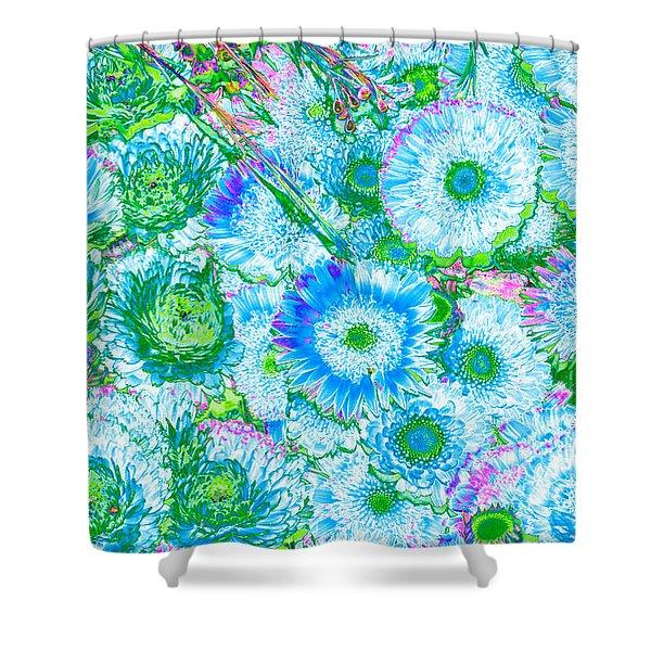 Van Gogh's Garden Shower Curtain