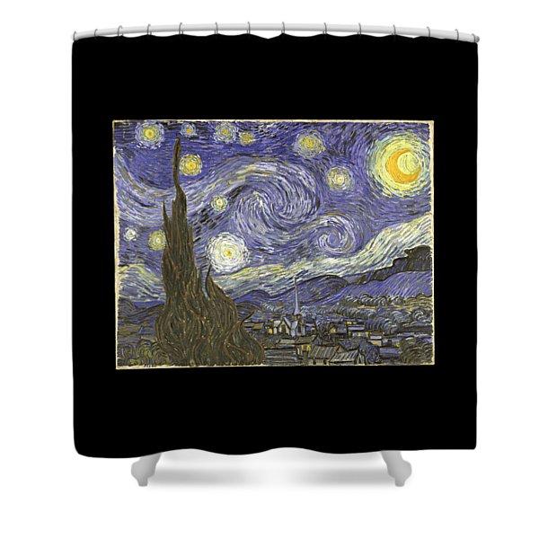 Van Goh Starry Night Shower Curtain