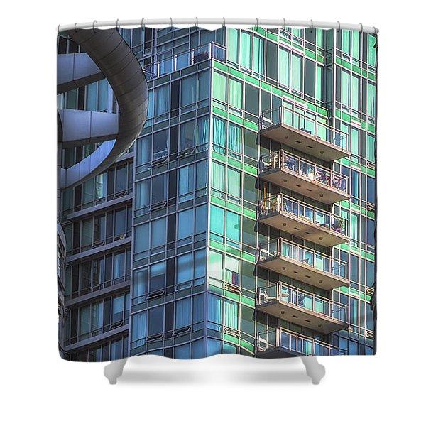 Vancouver Architecture No 2 Shower Curtain