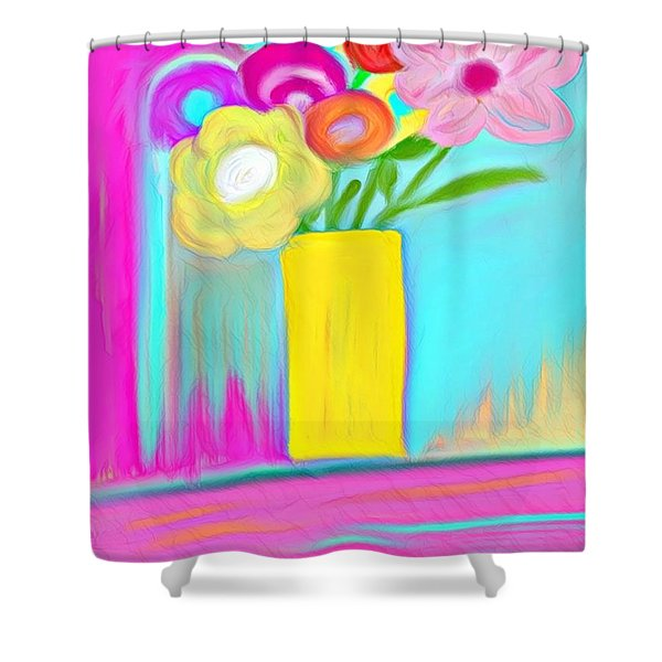 Vase Of Life Shower Curtain