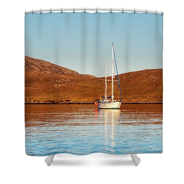 Vatersay Bay Shower Curtain