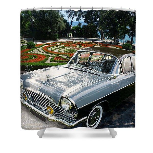Vauxhall Cresta In Croatia Shower Curtain