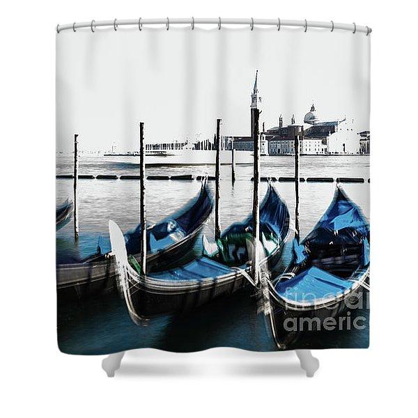 Venezia High-key, Italy Shower Curtain