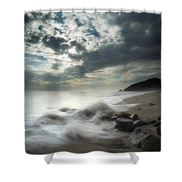 Ventura County Line Shower Curtain