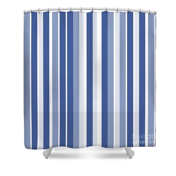 Vertical Lines Background - Dde605 Shower Curtain
