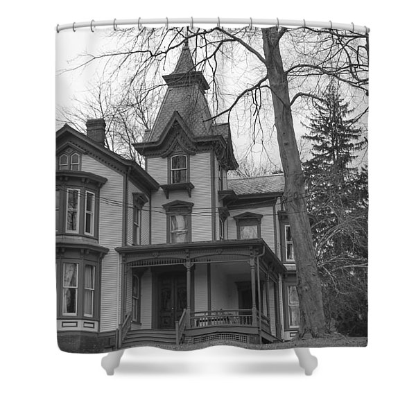 Victorian Mansion - Waterloo Village Shower Curtain