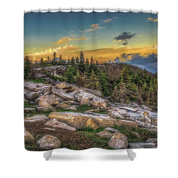 View From Dolly Sods 4714 Shower Curtain