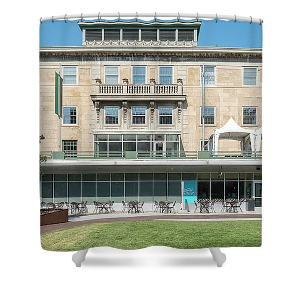 View Of Memorial Union Building Shower Curtain