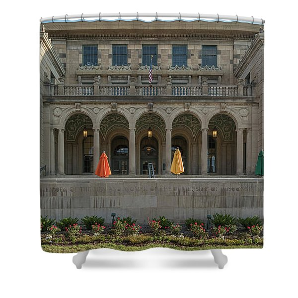 View Of University Shower Curtain