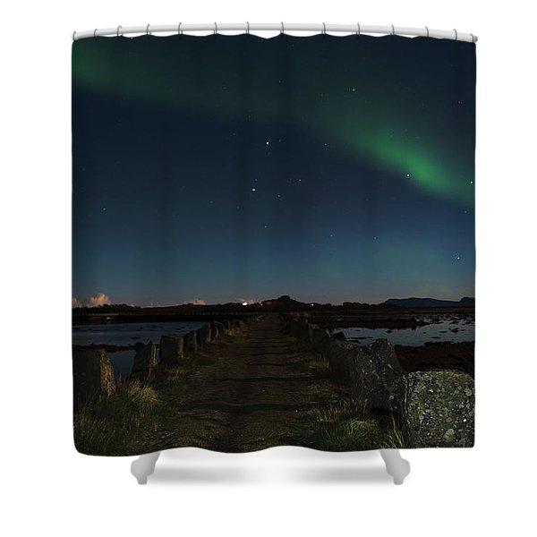 Viking Path Shower Curtain