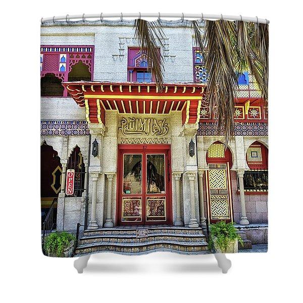 Villa Zorayda Shower Curtain