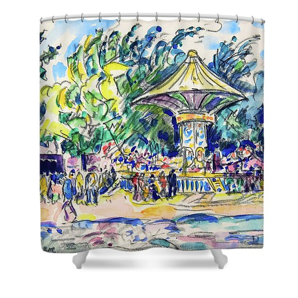 Village Festival, The Vogue - Digital Remastered Edition Shower Curtain