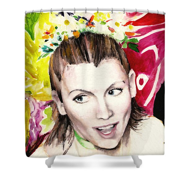 Vinotok Shower Curtain