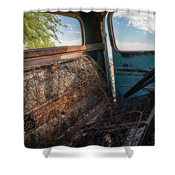 Vintage Comfort Shower Curtain