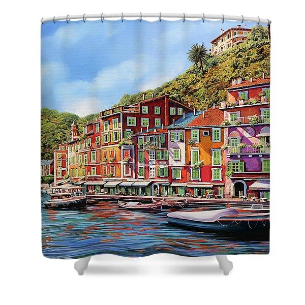 Viola Portofino Shower Curtain
