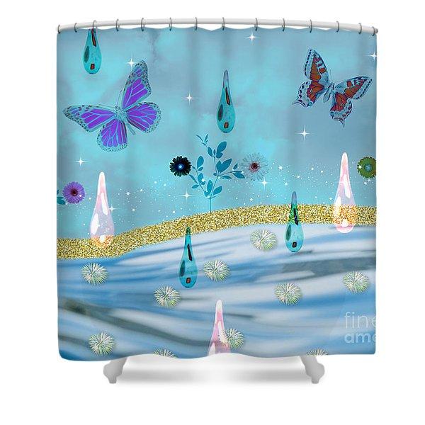 Visions Of Grandeur Shower Curtain