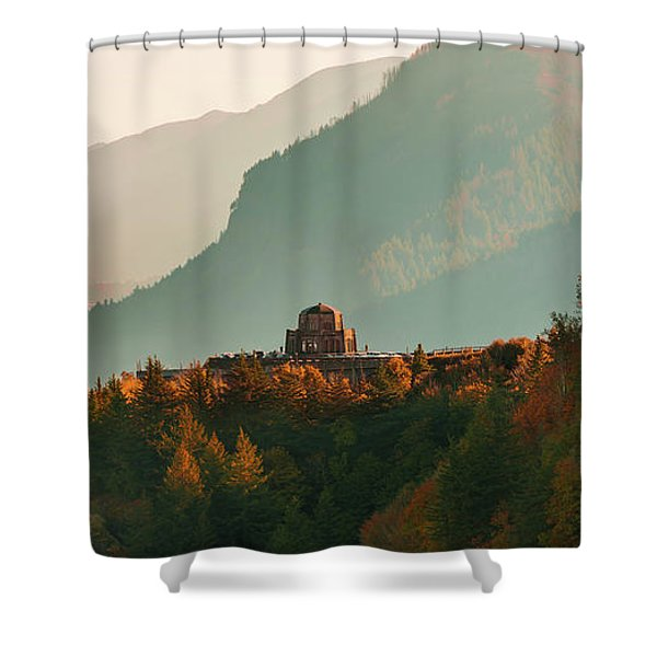 Vista House Shower Curtain