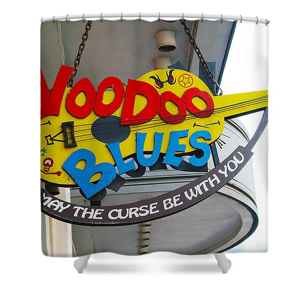 Voodoo Blues - New Orleans Shower Curtain
