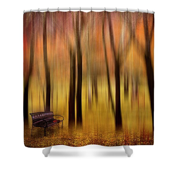 Waiting For You In My Dreams Shower Curtain