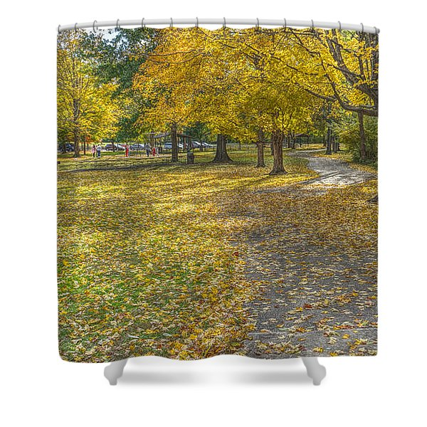 Walk In The Park @ Sharon Woods Shower Curtain