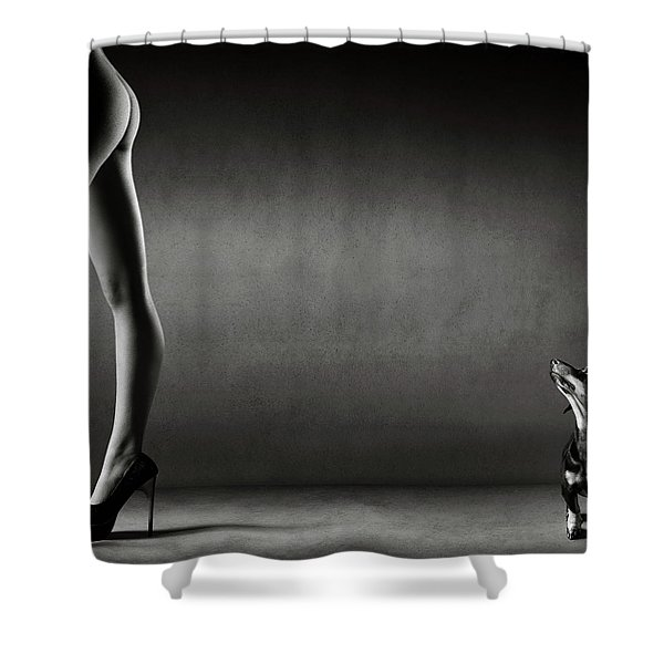 Walking The Wild Side Shower Curtain