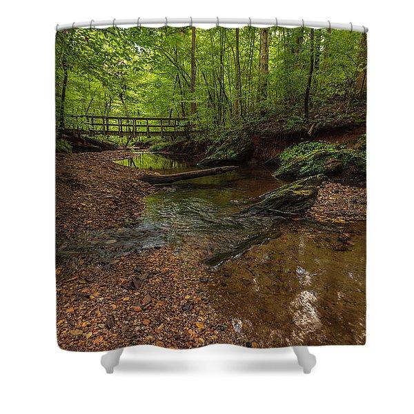 Walnut Creek Shower Curtain