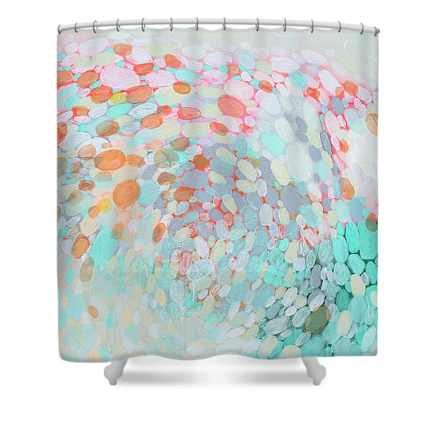 Want To Go Shower Curtain