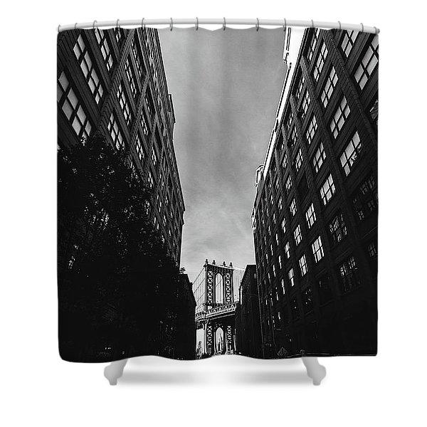 Washington Street Shower Curtain