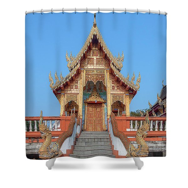 Wat Nong Tong Phra Wihan Dthcm2639 Shower Curtain